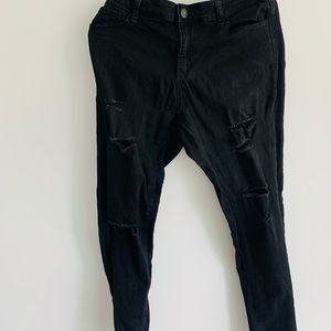 Black ribbed Wax Jean. Great condition.